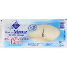 Filet de morue tradition PECHEUR D'ISLANDE, 300g