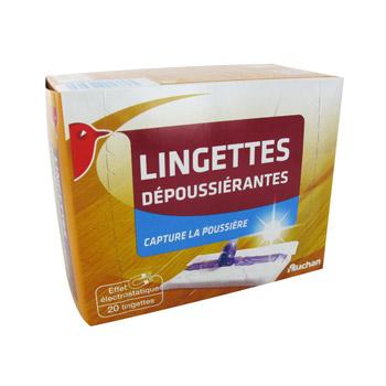 Lingettes Depoussierantes Jetables Format Universel S