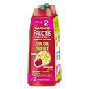 Garnier fructis shampoing color resist 2x250ml