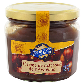 Creme de marron de l'ardeche Nos Regions ont du Talent 325g