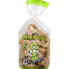 Biscuits Lacydon, Rond-anis, biscuits a l'anis vert, le paquet,350g