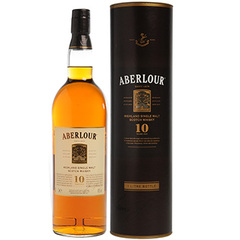 Whisky Aberlour. 10 ans 43%vol. 70cl