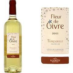 vin blanc moelleux de pays des cotes de gascogne fleur de givre