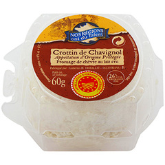 Chevre crottin chavignol Nos regions ont du talent 60g