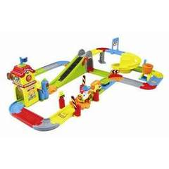 Tchou tchou bolides- Mon circuit train interactif