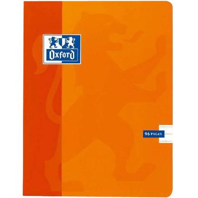Cahier agrafe 17x22cm, 96 pages 90g, seyes, grands carreaux, l'unite