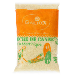 Sucre de canne roux Le Galion, Martinique 1kg