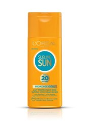 Sublime Sun, Lait bronzage Sublime FPS 20, le flacon de 200 ml