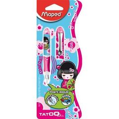 Maped mini stylo plume tatoo kawai
