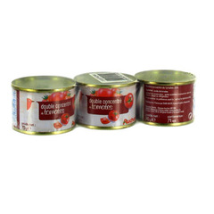 Auchan double concentre de tomates 3x70g