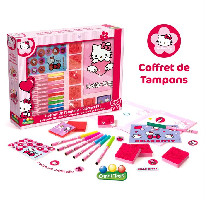 Coffret tampons Hello Kitty