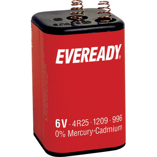 Pile eclairage NR425R eveready, la pile