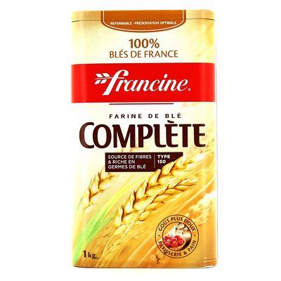 Farine integrale type 150 ustensiles de cuisine for Cuisine integrale
