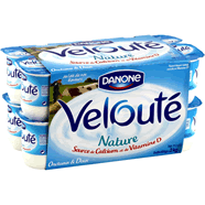 VELOUTE : Yaourts brassés natures