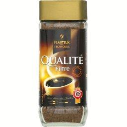 Qualite filtre, cafe soluble lyophilise, le bocal, 100g