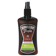 Hawaiian Tropic - Y00525F0 - Spray Huile Solaire Protectrice SPF10