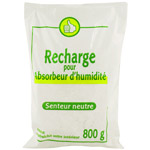 Recharge absorbeur d'humidite unitaire 800g
