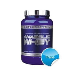 Anabolic whey - 900 g - Fraise - Scitec nutrition
