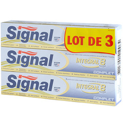 Dentifrice Signal Integral 8 Complet 3x75ml