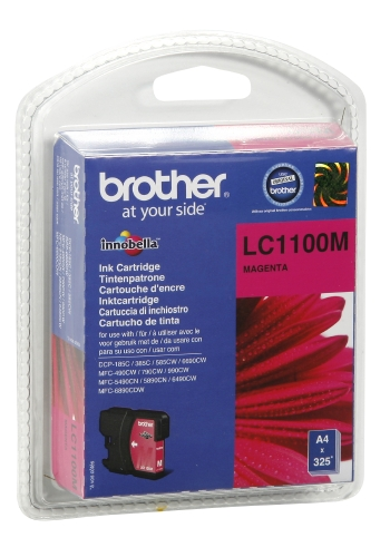 CARTOUCHE ENCRE BROTHER LC1100 MAGENTA