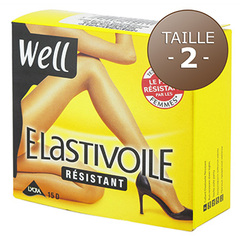 Collant resistant Elastivoile WELL, taille 2, gazelle