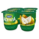Activia fruits poire 4x125g