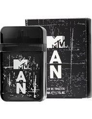 Mtv Fragrances Man Eau de Toilette Natural Spray, pack de 1 (1 x 50 ml)