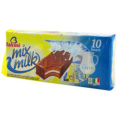 Genoise mix milk Balconi Patissier x10 280g