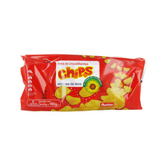 Auchan chips nature 6x30g