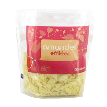 Amandes effilees