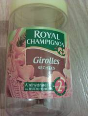 Girolles sechees ROYAL CHAMPIGNON, 40g