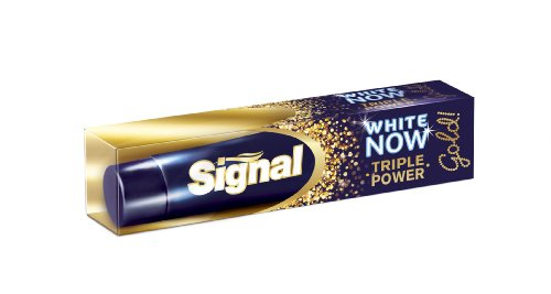 Dentifrice White Now Gold - Triple Power