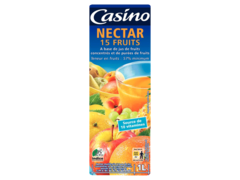 casino nectar jus 15 fruits 1 Litre