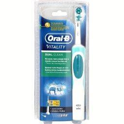 brosse a dent electrique oral b vitality dual clean tous. Black Bedroom Furniture Sets. Home Design Ideas