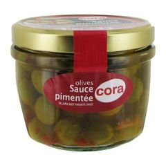 Olives sauce pimentee