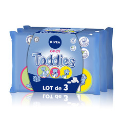 Nivea baby lingettes toddies 3x60