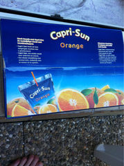 Capri Sun orange mini poche 40x20cl