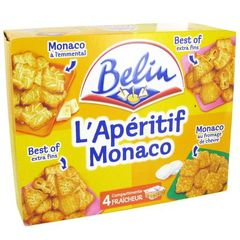 Belin Crackers assortiment monaco lot aperitif 340 gr