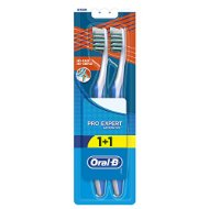 Oral-B Cross Action Lot de 6 packs de 2 brosses à dent manuelles pour adulte 35 Medium