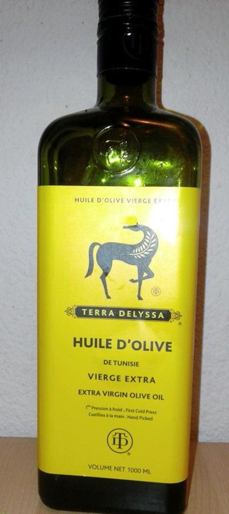 Huile olive vierge extra Terra Delyssa