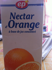 EP Nectar orange ABC Bk 1l