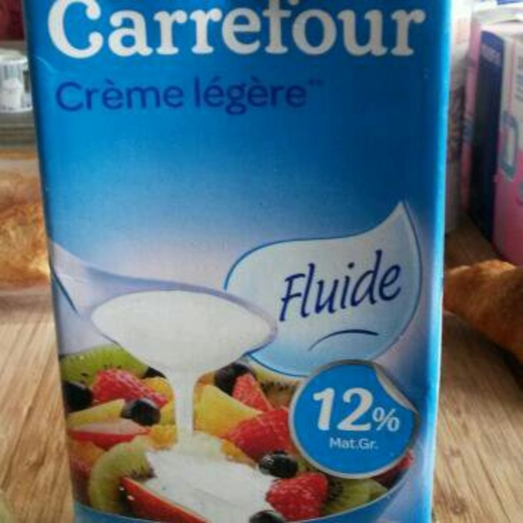 25d9819908b Crème liquide fluide 12% mg carrefour - Tous les produits crèmes ...