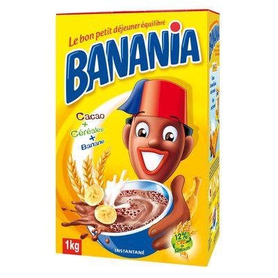 banania chocolat en poudre 1kg tous les produits caf s solubles chicor es prixing. Black Bedroom Furniture Sets. Home Design Ideas