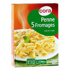 Penne aux 5 fromages