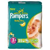 Pampers baby dry midpack T3 + x35