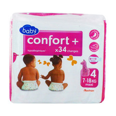 Auchan baby confort + single maxi change 7/18kg x34 taille4