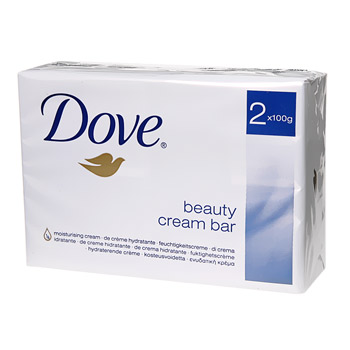 Savon Dove cream bar 2x100g