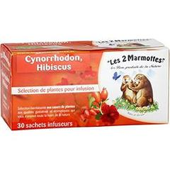 Les 2 Marmottes infusion cynorrhodon sachet x30 - 75g