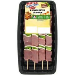 Brochette Douce France Dinde x4 380g
