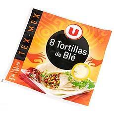 Tortillas ble U Cuisines & Decouvertes paquet de 320g